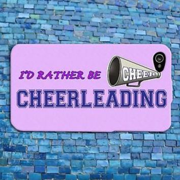 Cute Pink Cheerleader Cheer Quote Girly Funny Phone Case iPhone 4 4s 5 5c 6 iPod