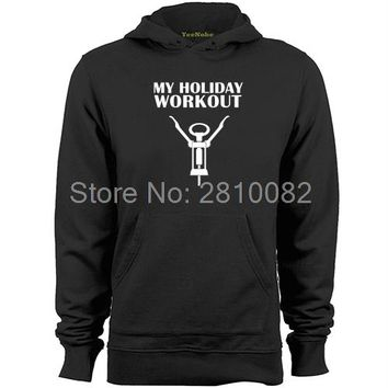 My Holiday Workout Hoodies - Men's Hoodie Sweater