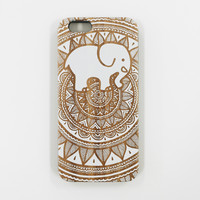 Painted White Bamboo Ella Phone Case