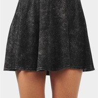 Acid Days Mini Skirt - Black