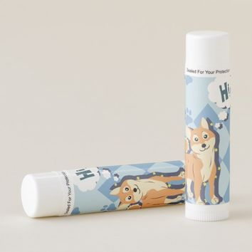 Thoughtful Shiba Inu Lip Balm