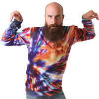 Cat Vortex Sweatshirt - READY TO SHIP