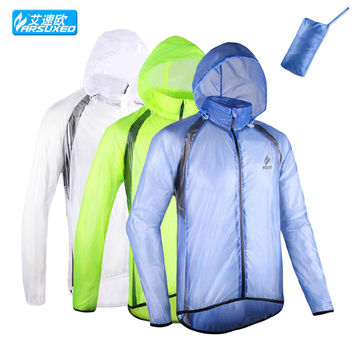 men outdoor sports Waterproof Pack rain cycling bike bicycle running downhill Jacket coat raincoat jersey windproof
