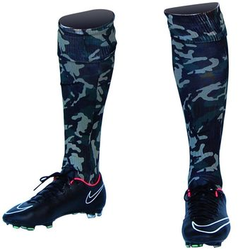 Army Camo Custom Sublimated Nike Soccer Socks
