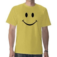 Smiley Face T-Shirt from Zazzle.com