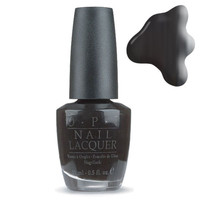 OPI Lady In Black 15ml at BeautyBay.com