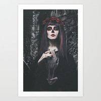 Catrina Day of the Dead Art Print by Galen Valle