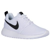 Nike Roshe One - Women's - Casual Running Sneakers - Nike - Casual - Shoes - Women's - White/White/Black | Essentials | Foot Locker