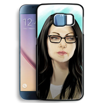 Orang Is New Black Art Painting Alex Vause for Samsung Galaxy S6 Case