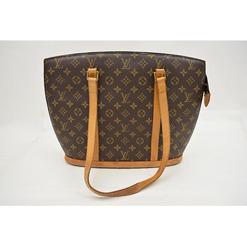 Tagre™ Louis Vuitton Babylone M51102 Brown Monogram Shoulder Bag 10325