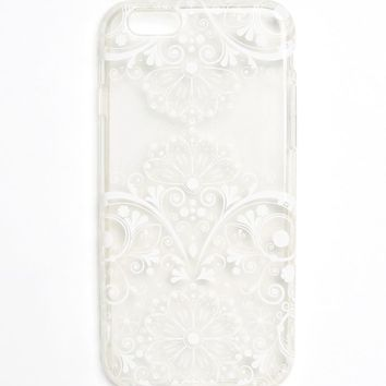 With Love From CA Floral Filigree iPhone 6 Case - Womens Scarves - Floral - One