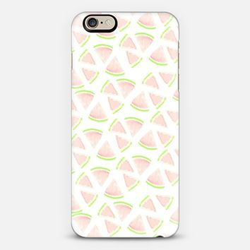 Watercolor Watermelon iPhone 6 case by Victoria Bilsborough | Casetify