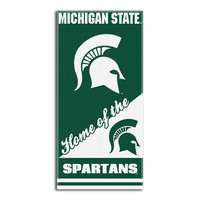 Michigan State Spartans NCAA Beach Towels (28in x 58in)
