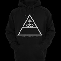 TRIANGULAR SATAN | UNISEX HOODIE PULL OVER