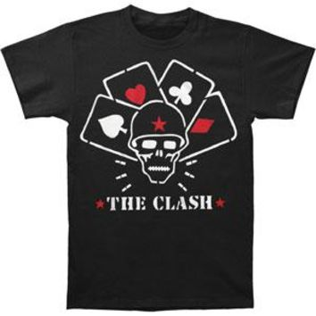 Clash Men's  Straight To Hell Mens T T-shirt Black