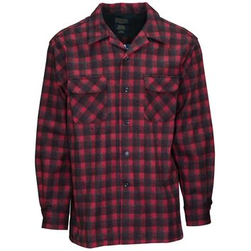 Board Shirt Red/Dark Red Plaid