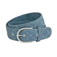 "Tailored Sportsman ""Quilted"" Clarino™ Belt 