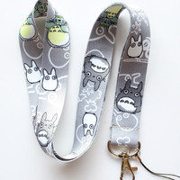 My Neighbor Totoro Neck Strap Cell Phone ID Card Key Lanyard
