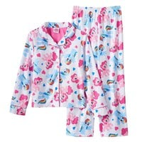 My Little Pony Rainbow Dash & Pinkie Pie Pajama Set - Girls