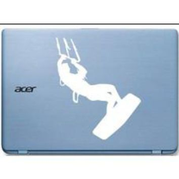 Kite Surfer Tablet PC Decal Sticker Car Window macbook tablet tablet pc iPhone ipd mobile notebook board