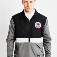 Billionaire Boys Club BBC X Majestic Team Warm Up Jacket Black/Grey at The Idle Man