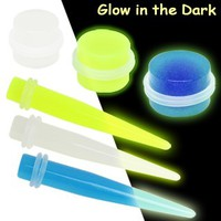 All Glow in the Dark Taper and Plug Package