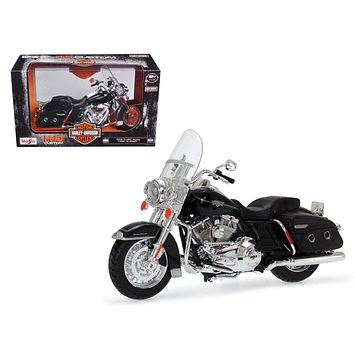 2013 Harley Davidson FLHRC Road King Classic Black Bike Motorcycle 1:12