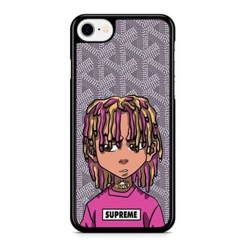 Lil Pump Esskeetit Goyard Grey iPhone 8 Case