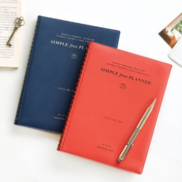 Simple Seize the Day Planner
