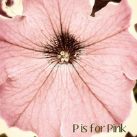 Pink photo childrens nursery art alphabet print pink brown white green macro flower 8x10 Fine Art Photo, P is for Pink