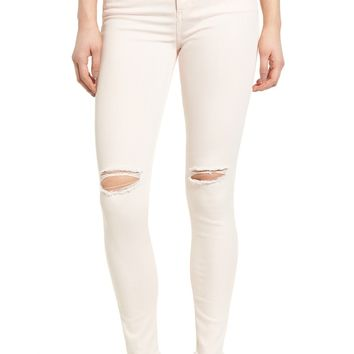 SP Black Ripped Skinny Jeans (Blush) | Nordstrom