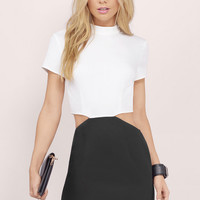 On Your Side Cutout Bodycon Dress $40