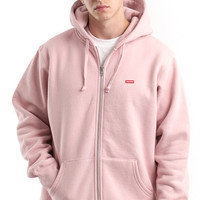 Supreme, Small Box Zip-Up Hoodie - Dusty Pink - Supreme - MLTD