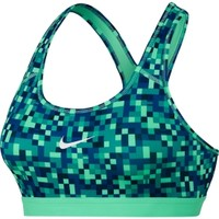 Nike Women's Pro Classic Pixel Printed Compression Sports Bra | DICK'S Sporting Goods