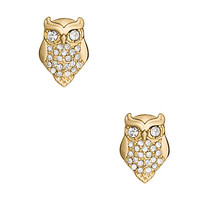 Kate Spade Things We Love Owl Studs Clear ONE