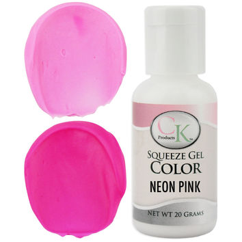 Neon Pink CK Gel Paste Food Coloring
