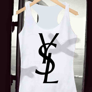 ysl _ Tank Top Men And Women Design By : Kotanxkatonx