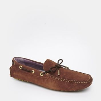 Ted Baker Driving Shoes - Brown