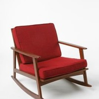 UrbanOutfitters.com > Mid-Century Rocker Chair RED