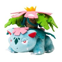 "Pokemon Center Japan Mega Venusaur/Fushigibana Stuffed 5"" Plush Doll"