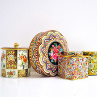 Vintage Biscuit Tin Collection
