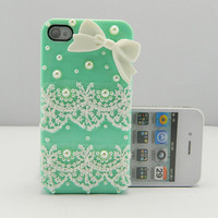 Lace case  iPhone case iPhone 4 case iPhone 4s case iPhone cover Multiple color choices Listing Stats