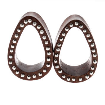 "Multi Pin Oval Wood Plugs (1"") #7463"