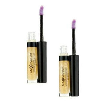 Vibrant Curve Effect Lip Gloss Duo Pack - # 02 Sparkling - 2x5ml-0.17oz