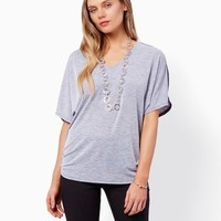 Nicolette V-Neck Top | Fashion Apparel and Clothing - Tops | charming charlie