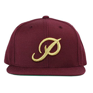 Primitive Classic P Snapback Gold P Burgundy Size O/S