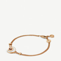 BVLGARI Bvlgari-Bvlgari Cuore 18ct pink-gold, diamond and mother-of-pearl bracelet