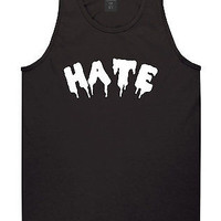 Kings Of NY Hate Goth Blood Font Tank Top T-Shirt