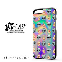 Psychedelic Alien Emoji Pattern For Iphone 6 Iphone 6S Iphone 6 Plus Iphone 6S Plus Case Phone Case Gift Present YO