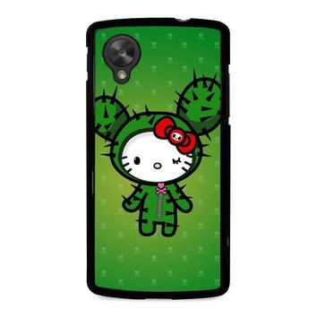 HELLO KITTY DOKITOKI DONUTELLA Nexus 5 Case Cover
